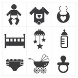 Baby Stuff Icon Stock Images