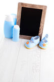 Baby stuff Royalty Free Stock Photos