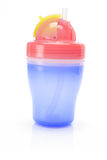 Baby Sucking Cup Royalty Free Stock Image