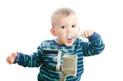 Baby sugar grinder Royalty Free Stock Photography