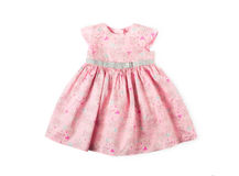 Baby summer dress Stock Images