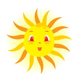 Baby Sun Stock Image