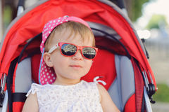 Baby in Sunglasses Royalty Free Stock Photography