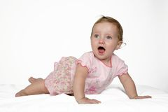 Baby Surprise Royalty Free Stock Photography