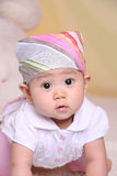Baby surprise look Stock Images