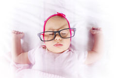 Baby in the sweet dreams Stock Photo