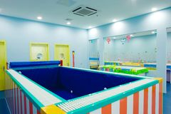 Baby swimming pool Stock Images