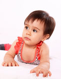 Baby with swimsuit Royalty Free Stock Photos
