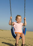 Baby swing Royalty Free Stock Images