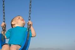 Baby swing Royalty Free Stock Image