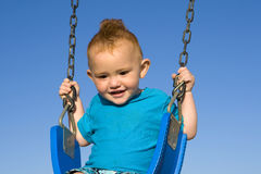 Baby swing Royalty Free Stock Photos