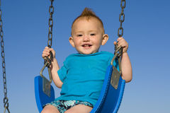 Baby swing Stock Image