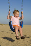Baby swing royalty free stock photo