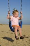 Baby swing Royalty Free Stock Photo