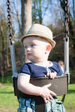 Baby Swinging at the park Royalty Free Stock Photography