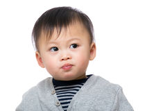 Baby tänka Royaltyfri Bild