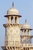 Baby Taj,Agra. Baby Taj-Beautiful marble design on Chatries of Baby Taj.Agra royalty free stock photo