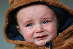 Baby, Tears, Small Child, Sad, Cry Stock Photography