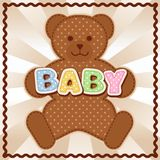 Baby Teddy Bear Royalty Free Stock Images