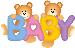 Baby Teddy Bears Stock Photography