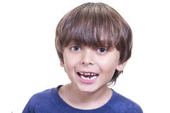 Baby teeth smile Stock Photography