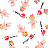 Baby texture  Royalty Free Stock Photos
