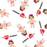 Baby texture  Stock Images
