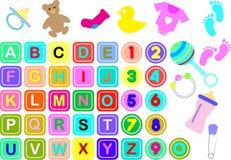 Baby Theme Stock Image
