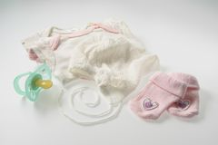 Baby things Stock Images