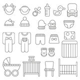 Baby things icon Stock Image