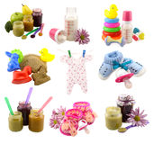 Baby things Royalty Free Stock Image