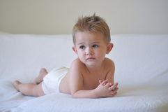 Baby thoughts Stock Image