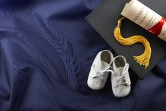 From baby to graduate Stock Images