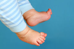 Baby toes Royalty Free Stock Photo