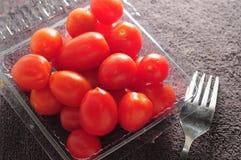 Baby tomato Stock Image