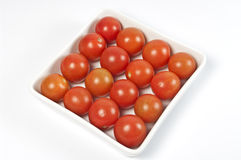 Baby tomatos Royalty Free Stock Photos