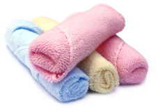 Baby towels Royalty Free Stock Images