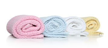 Baby towels Royalty Free Stock Photo