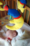 Baby toy. Picture may represent the child's sleep problems Royalty Free Stock Images