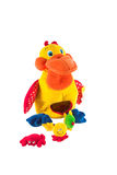 Baby toy. Baby colorful toy on white background Royalty Free Stock Photos