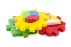 Baby toy blocks Royalty Free Stock Image