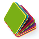 Baby toy book. A colorful semi-open baby toy book Royalty Free Stock Photos