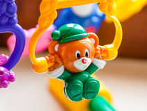 Baby toy closeup Stock Photo