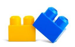 Baby toy plastic block Stock Images