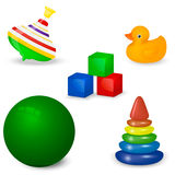 Baby Toy Set Royalty Free Stock Photography
