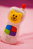Baby toy telephone Royalty Free Stock Photography