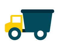 Baby toy truck isolated icon design Stock Photos