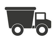 Baby toy truck isolated icon design Royalty Free Stock Images