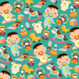 Baby Toys Background Royalty Free Stock Photos