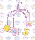 Baby toys cartoons. Vector illustration graphic design vector illustration